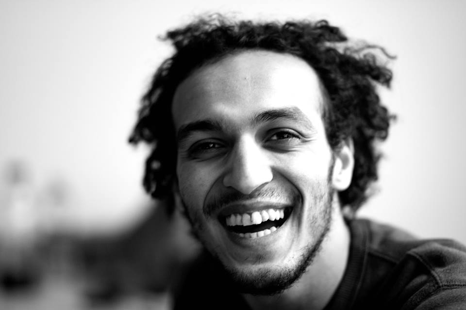 Shawkan was arrested whilst he covered the security forces' dispersal of the Rabaa Al-Adaweya and Al-Nahda Squares sit-ins in August 2013 (Photo from Freedom for Shawkan)