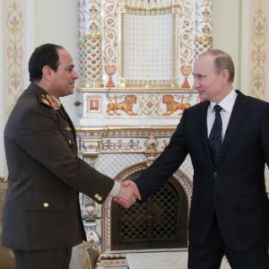 Russian would not lobby Egypt to cut ties with the EU, Professor of Political Economy at Cairo University says AFP Photo