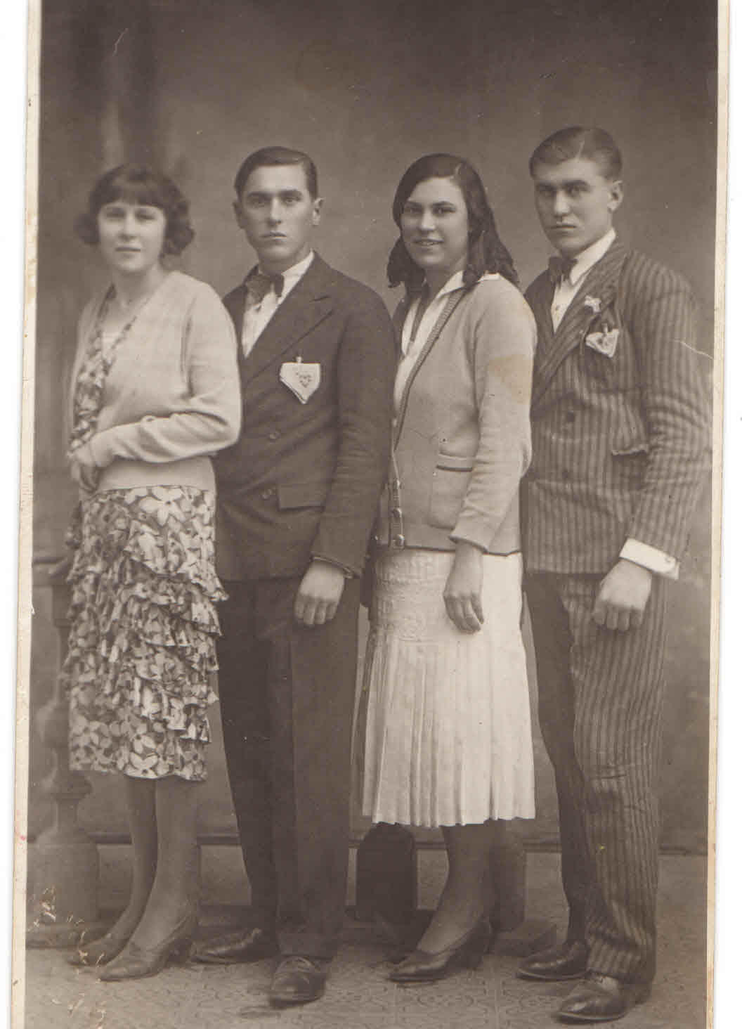 Friderika Leon with her two twin brothers and sister. (Handout Photo )