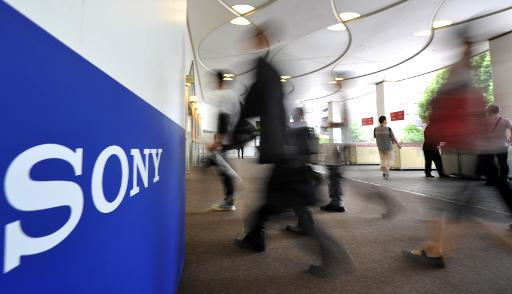 Last week Moody's downgraded Sony's credit rating to junk, saying the maker of Bravia televisions and the PlayStation games console had more work to do in repairing its battered balance sheet (AFP/File, Kazuhiro Nogi)