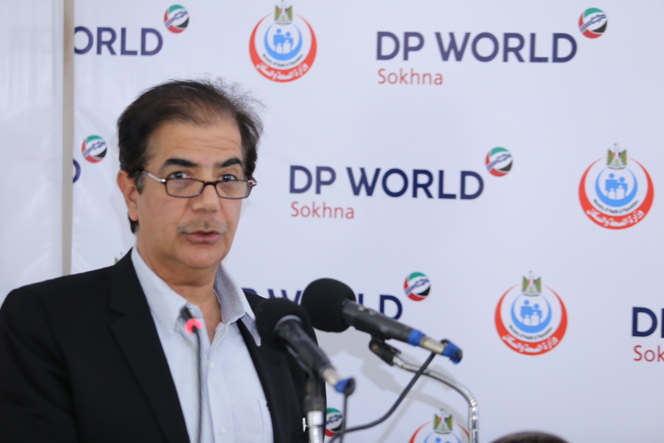Senior vice president and managing director of DP World Middle East and Africa Suhail Al Banna (Photo Handout to DNE)