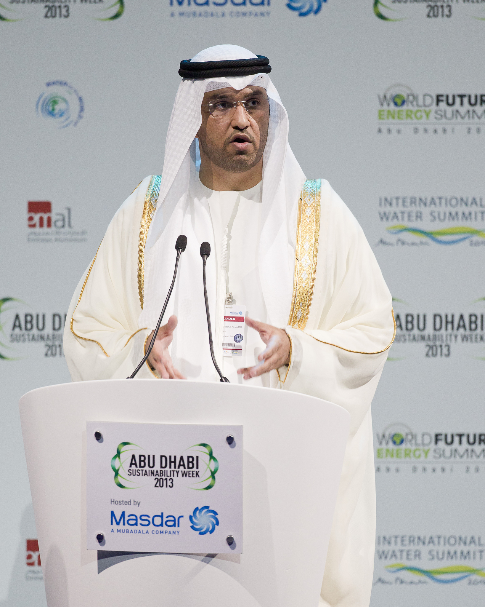 UAE Minister of State Sheikh Sultan Al-Jaber (Public Domain Photo)