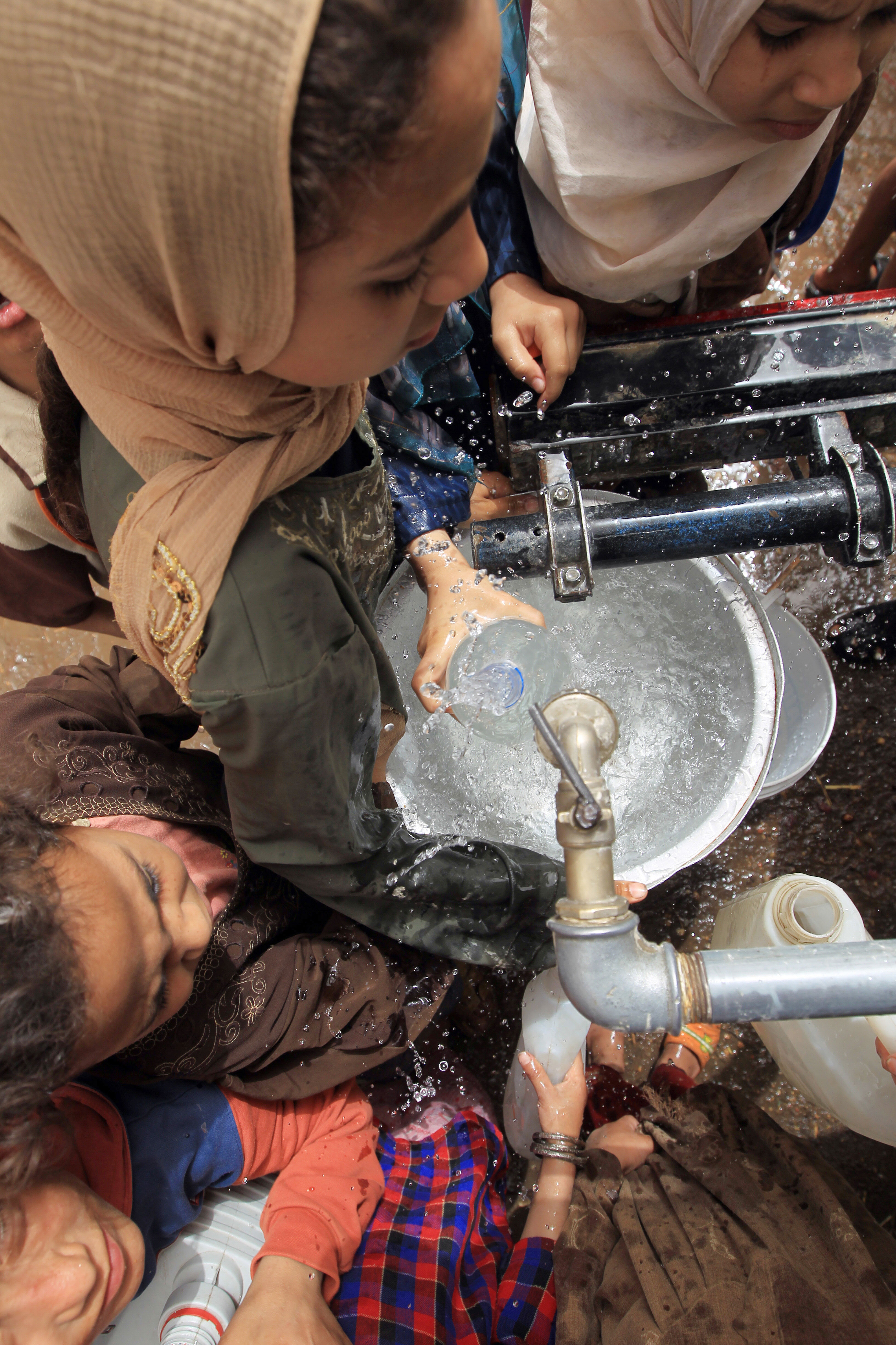 195 drinking water and sanitation projects will be completed on June 30 (AFP File Photo)