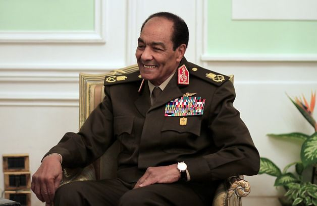 former commander-in-chief of the Egyptian Armed Forces and Chairman of the Supreme Council of the Armed Forces during the 25 January Revolution Mohamed Hussein Tantawi. (AFP Photo)