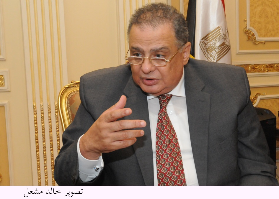 Transitional Justice Minister Ibrahim El-Heneidi (Photo by Hoda Badri)