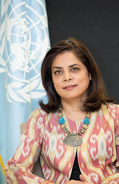 Anita Nirody, UNDP Resident Representative