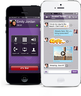 Saudi Arabia shut down Internet messenger application Viber on Wednesday for failing to comply with unspecified regulations, its telecom regulator said. (Photo from Viber.com)