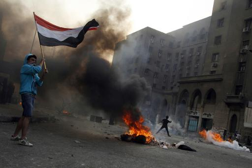 Kandil warned the security forces' crackdown on supporters of Morsi's MB,  was ripping the country apart (AFP File Photo)