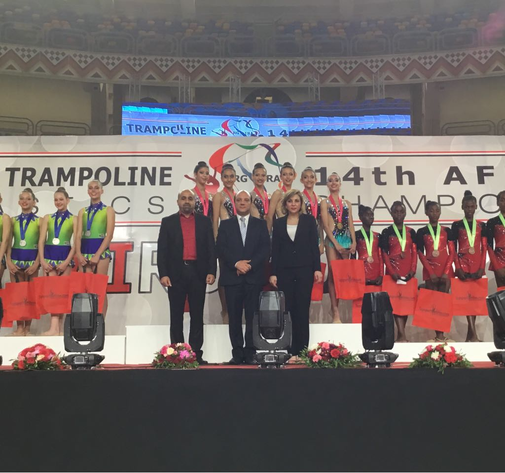 Egypt wins first place at 14th African Championships for Rhythmic