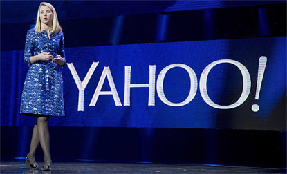 Yahoo Inc to stop user access of services like Flickr with Facebook, Google IDs. (Reuters Photo)