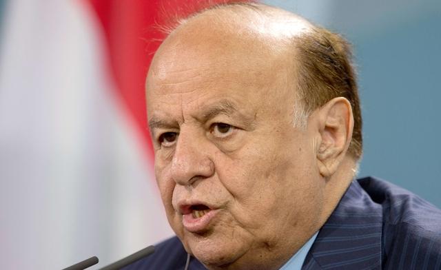 Yemeni President Abdrabuh Mansur Hadi (AFP File Photo)