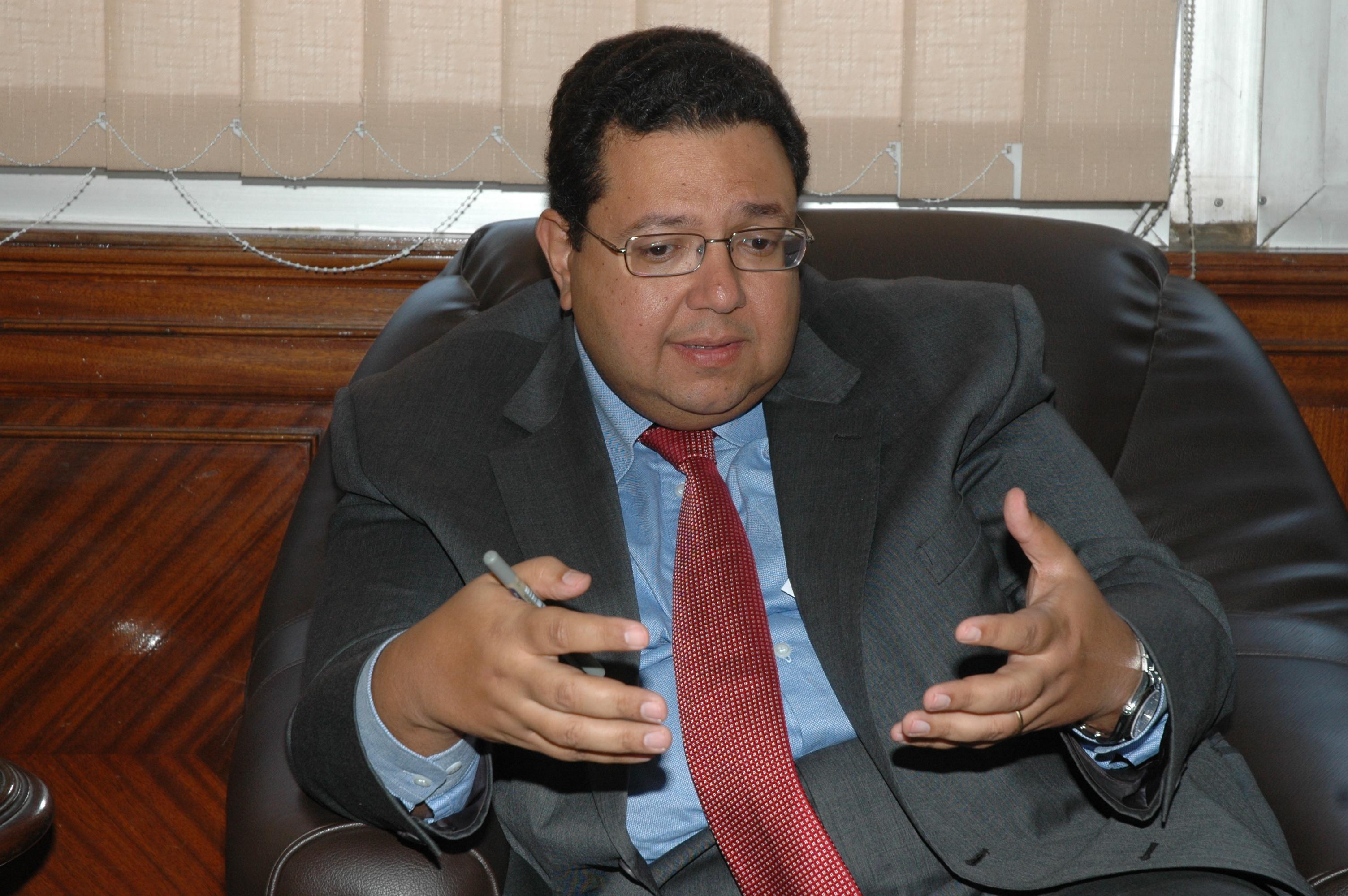 Deputy Prime Minister Ziad Bahaa El-Din  (Photo from Al-Borsa News)