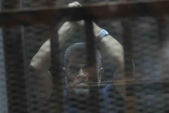 the Cairo Criminal Court postponed the espionage and prison break trials to 16 June (Photo by Ahmed Al-Malky)