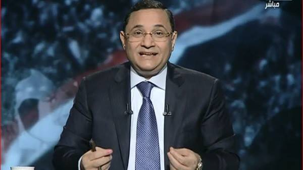 Television presenter Abdel Raheem Ali (Photo from Abdel Raheem Ali Facebook Page)