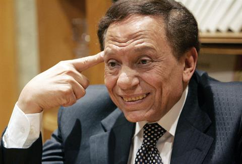 Artist Adel Imam preserved his place on the list of highest paid stars during the month of Ramadan. (AFP Photo)
