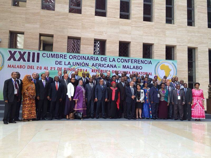 Egypt receives 'warm welcome' at African Union (Photo Ministry of Foreign Affairs Handout)