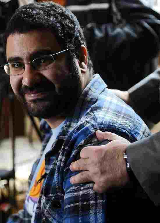 Famous activist and blogger Alaa Abdel Fattah    (AFP File Photo)