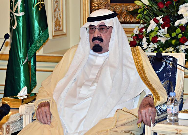 Saudi Arabian King Abdullah bin Abdulaziz Al-Saud (AFP Photo)