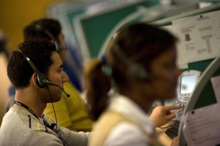 Supply service call centre to be inaugurated Thursday. (AFP Photo)