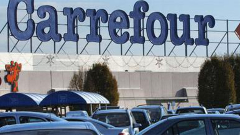 MAF, which is the sole franchisee of French hypermarket chain Carrefour in the Middle East (AFP Photo)
