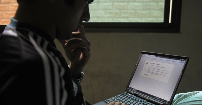 Egypt to push for removing 'terrorist' websites (AFP Photo)