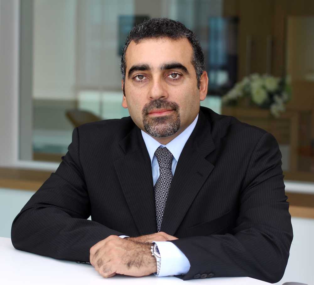 Dr Adham Sleiman, vice president of Booz Allen Hamilton MENA