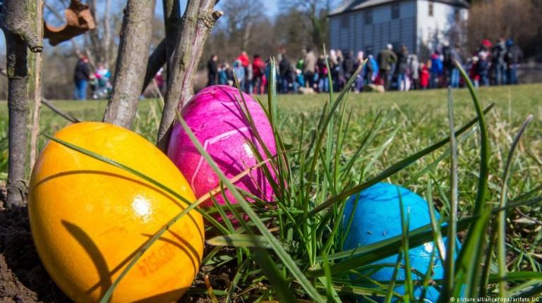 Easter and Sham El-Nessim eggs