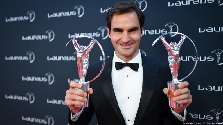 Roger Federer, Serena Williams claim 2018 Laureus sports awards