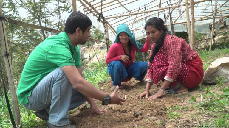 How a farming project in Nepal is smashing caste bigotry