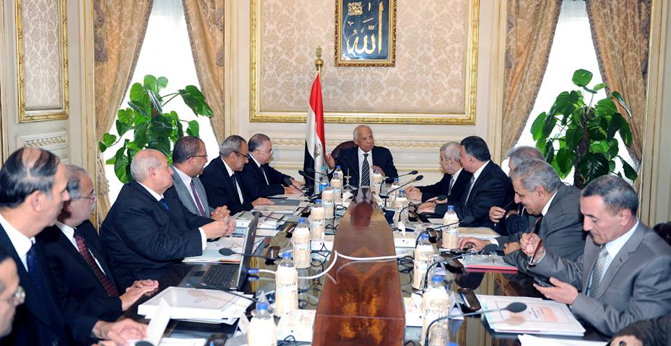 Minister of Investment Osama Saleh said during the Monday economic ministerial meeting that his ministry and Ministers of Defense and Local Development signed a protocol with Emaar Misr to start working on Uptown Cairo. (Photo courtesy of the cabinet Facebook page)