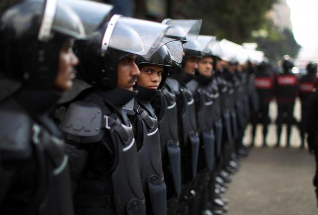 Security forces forcibly dispersed a number of protests around the country on 3 July 2014 (AFP File Photo)