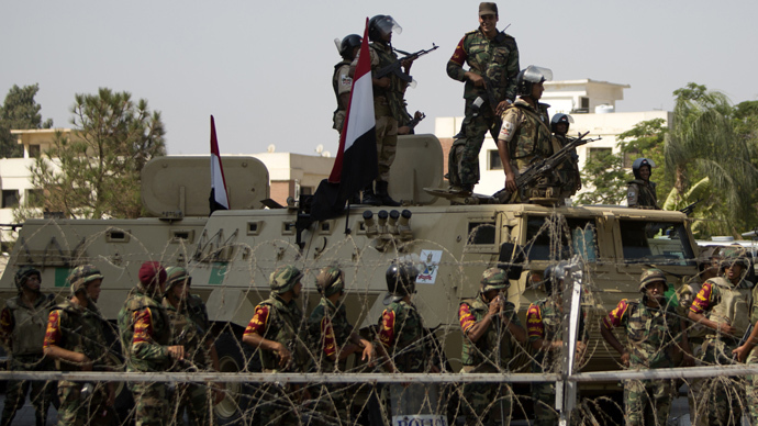 """Egypt's armed forces is looking to assist with developmental projects in Africa after a report on assessing """"international and regional variables and their impact on Egyptian national security"""". (AFP Photo)"""