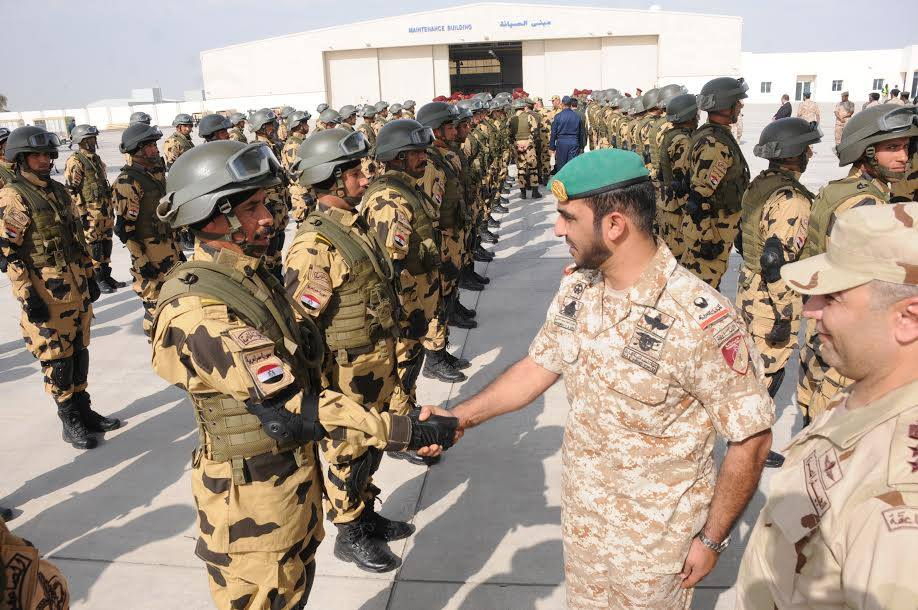 Egypt's air, naval and special forces have begun joint training exercises with the United Arab Emirates, further displaying the strengthening of relations between the two countries. (Photo from Army Spokesman Facebook Page)