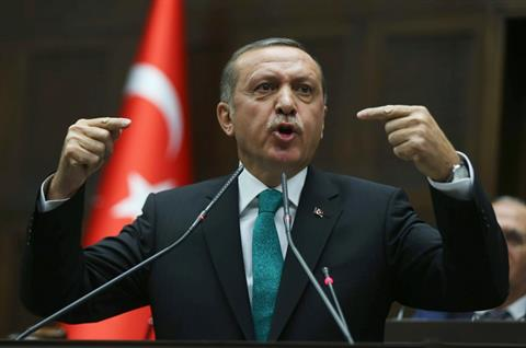 Turkey's Prime Minister Recep Tayyip Erdogan    (AFP PHOTO / ADEM ALTAN)