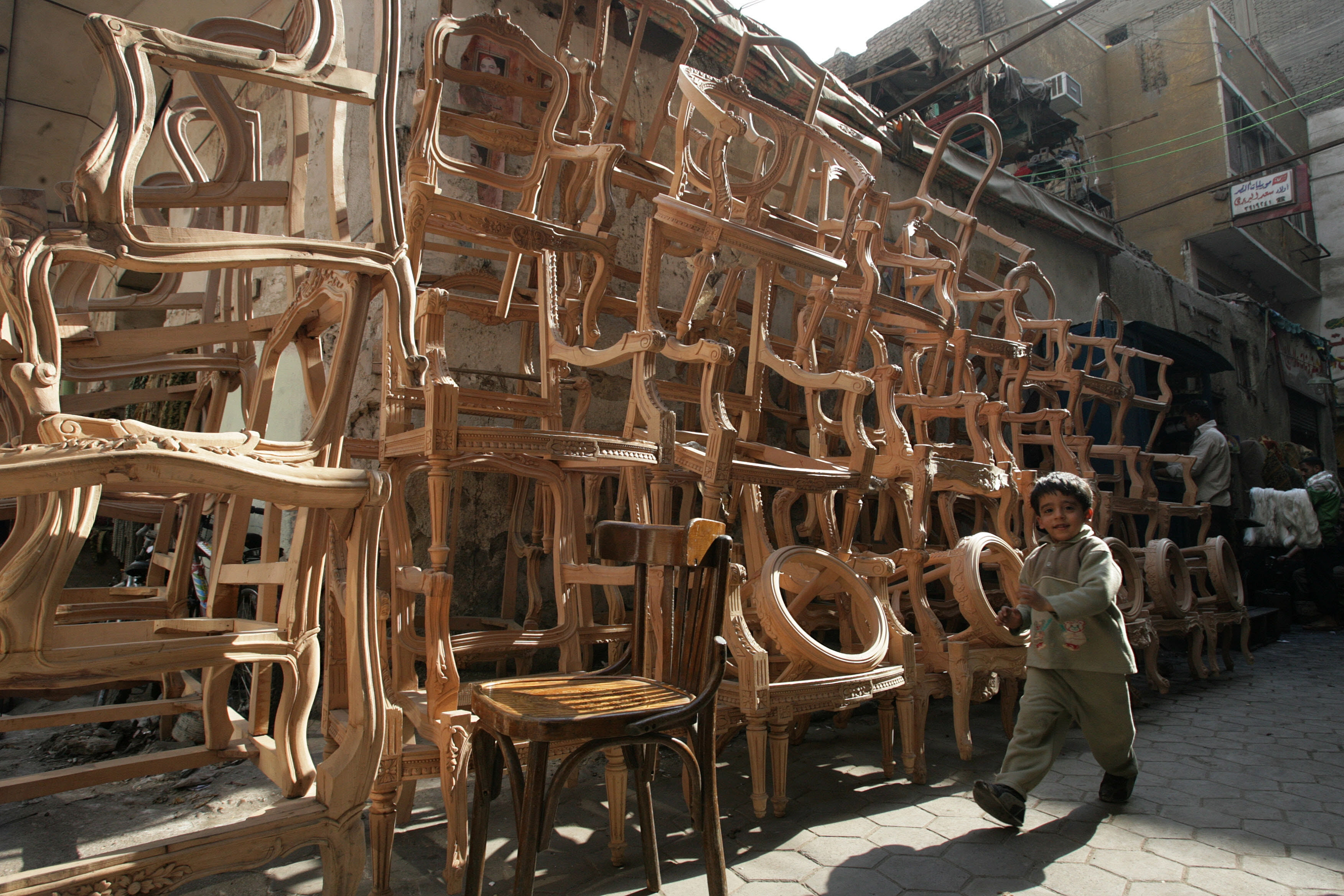 The value of Egyptian furniture exports reached EGP 1.1bn between January and May 2014, marking an increase of 36% compared to the same period last year. (AFP Photo)