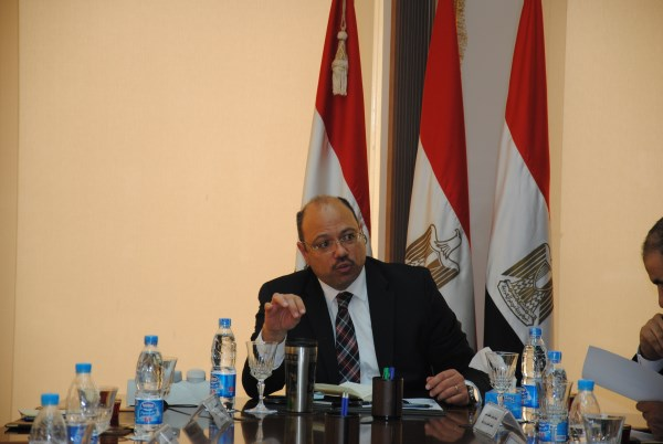 The Ministry of Finance's priorities in the next months are to stimulate the economy, contribute to finding solutions to unemployment, and reform the energy subsidies and wages systems, Minister of Finance Hany Qadry said Thursday. (Photo from MOF)