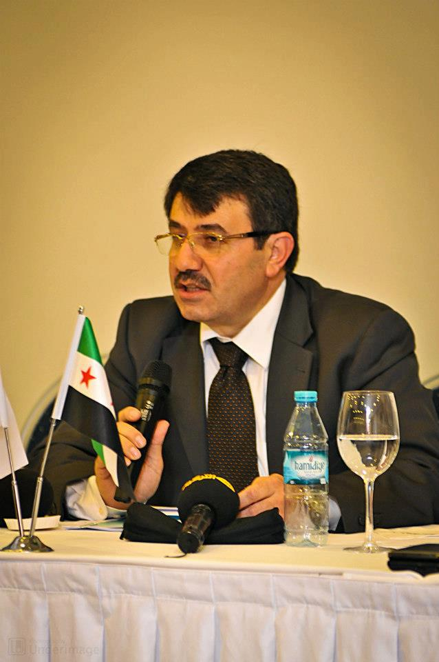 Hisham Marwah, vice head of the Syrian Coalition