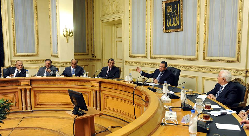 In a meeting on Monday for the Education Development Fund, Prime Minister Hesham Qandil asserted the importance of investing in technical education to fulfil the needs of the market (Photo Cabinet Handout)