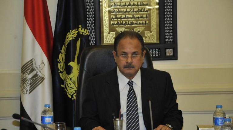 Minister of Interior Magdy Abdel Ghaffar
