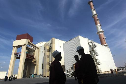 File picture taken on October 26, 2010 shows the reactor building at the Russian-built Bushehr nuclear power plant, 1200 kms south of Tehran  (Mehr News/AFP/File, Majid Asgaripour)