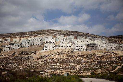 The international community considers all Jewish settlements built on land seized in 1967 -- such as Givat Zeev -- to be illegal  (AFP, Menahem Kahana)