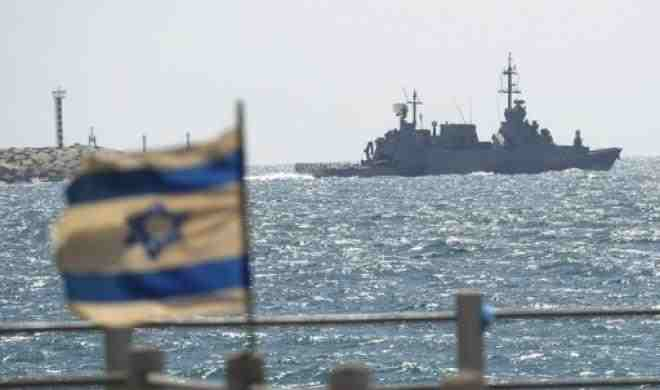 Israeli navy fires on boat returning from Sinai. (AFP File Photo)