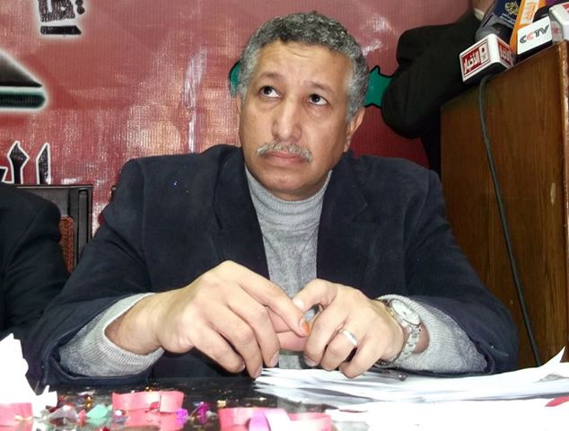 Khaled Al-Sherif, media spokesman of Building and Development Party