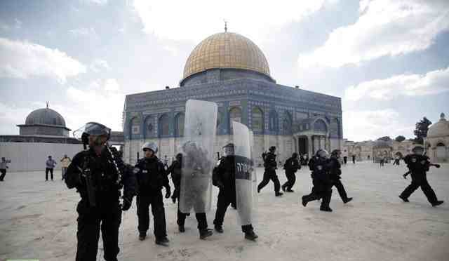 Egypt expresses concern over continued Al-Aqsa mosque violence. (AFP File photo)