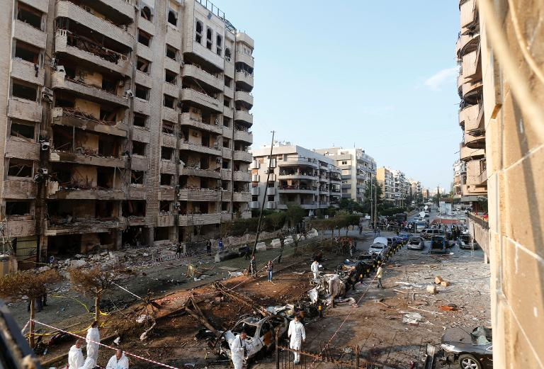 Abdullah Azzam Brigades -- the Al-Qaeda linked extremist group -- have claimed responsibility for the suicide bombing at the Iranian embassy in Beirut in November 2013  (AFP File Photo)