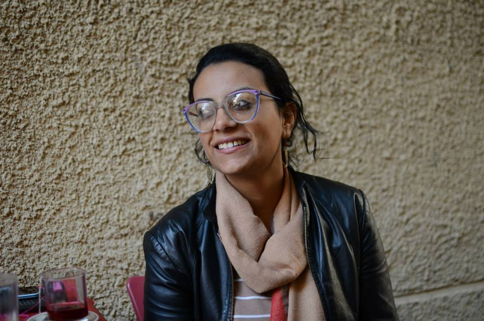 Alexandrian lawyer and activist Mahienour El-Massry started a hunger strike on Sunday in support of all those detained over the controversial 2013 Protest Law. (Photo courtesy of Free Mahienour)