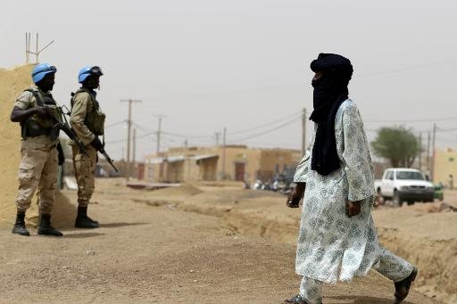 United Nations soldiers patrol on July 27, 2013 in the northern Malian city of Kidal (AFP/File, Kenzo Tribouillard)
