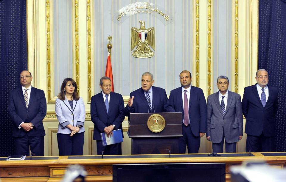 Prime Minister Ibrahim Mehleb held press conference on Saturday to highlight the new government's achievements during its first 90 days in office. (Photo Cabinet Handout)
