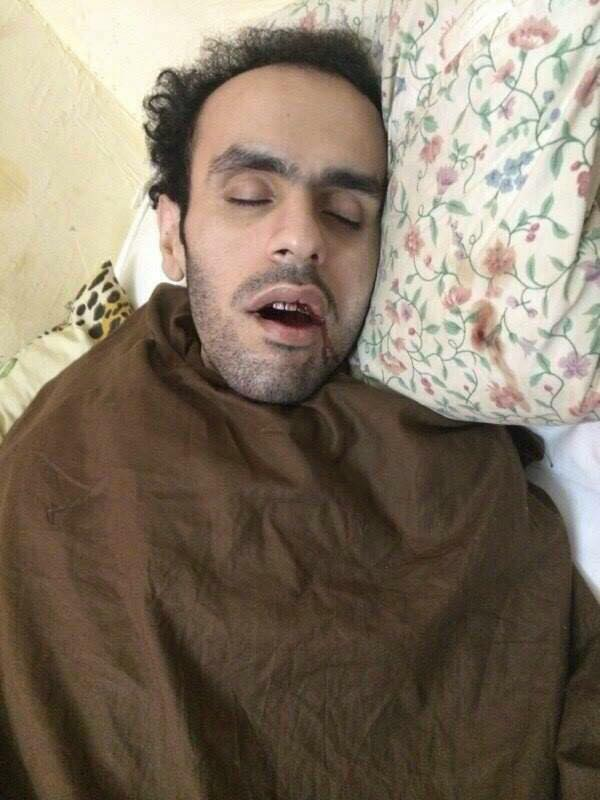 An image of currently imprisoned Egyptian-American activist Mohamed Soltan was posted on social media on Tuesday.  (Photo from Free Soltan Facebook Page)