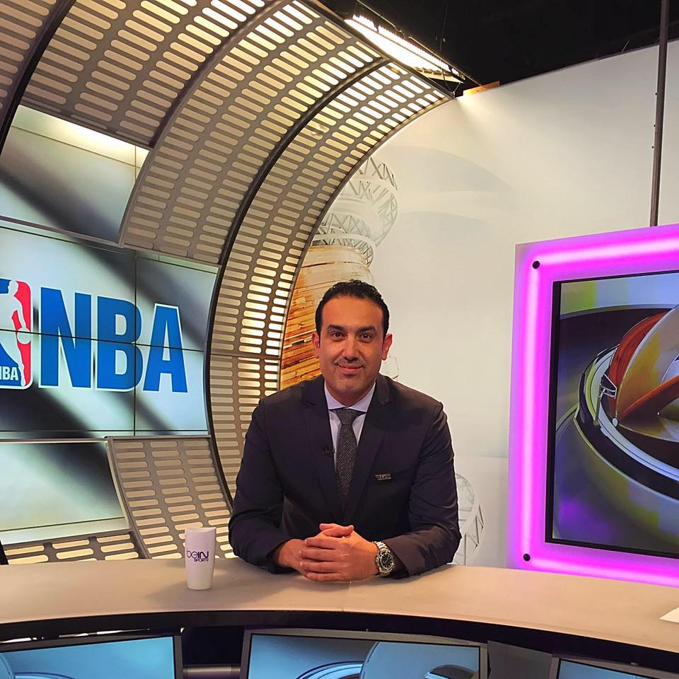 Mohamed Yousef has been as a basketball presenter and commentator in sports in Egypt for 38 years